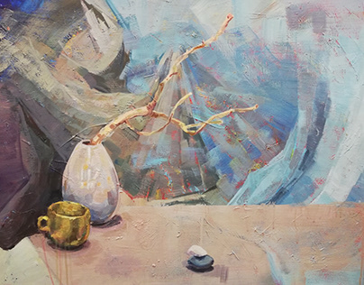 Still life abstraction