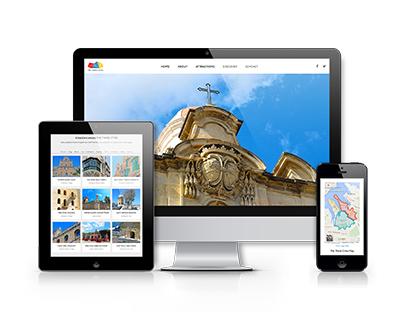 The Three Cities Branding & Website