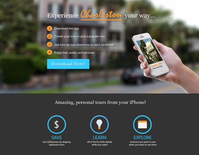 iPhone Travel App - Home
