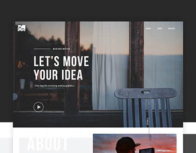 Madison Motion - Site Design