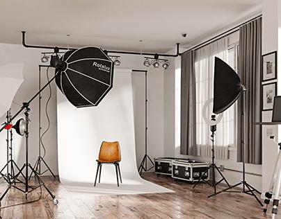 CGI - Photography studio
