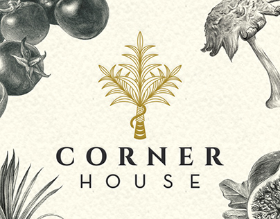 CORNER HOUSE - Branding