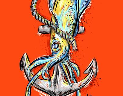 Anchor squid
