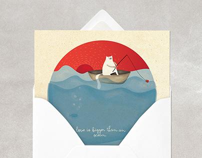 """Postcards: """"Feelings for sending"""""""