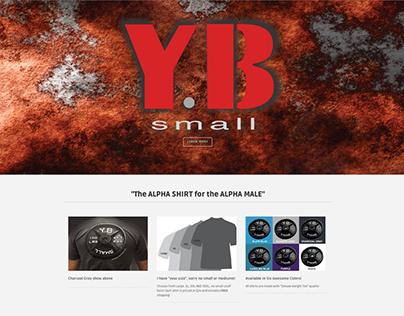 ybsmallclothing.com-ecommerce website