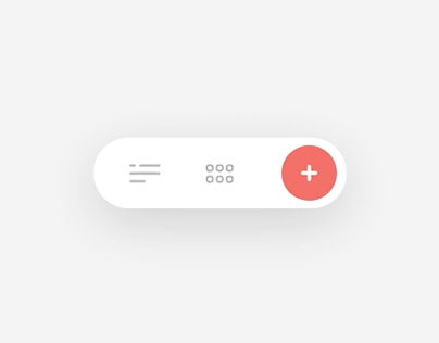 Micro Interaction Search Bar Menu