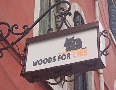 Woods for Cats - Logo Design
