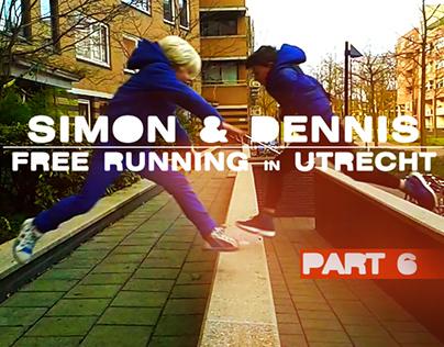 Video: Simon & Dennis Freerunning in Utrecht - Part 6