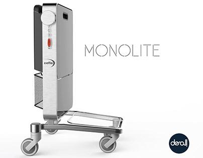 MONOLITE - Compact cart