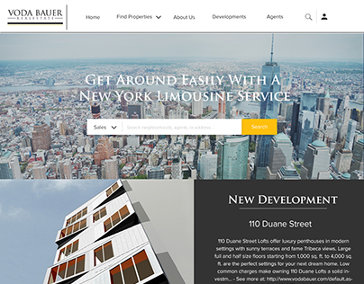 Voda Bauer Real Estate Home Page