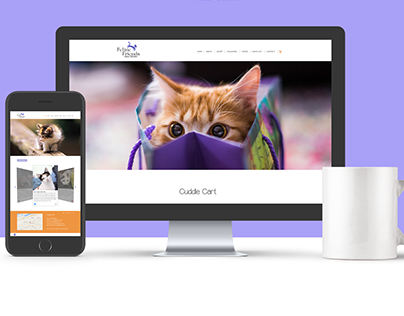 Feline Friends Website Redesign