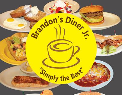 Brandon's Diner Jr. Menu