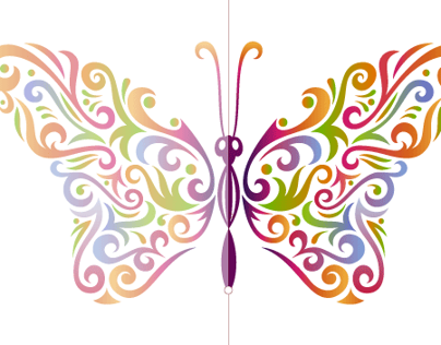 How to create a stylised butterfly
