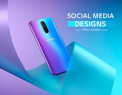 Oppo Arabia Social Media Designs