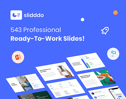 slidddo - 543 Slides For PowerPoint and Keynote