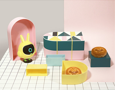 cainiao mooncake packaging design