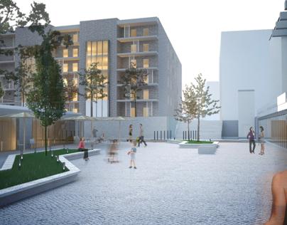 Nowy Targ Sienny // urban design sem. VII