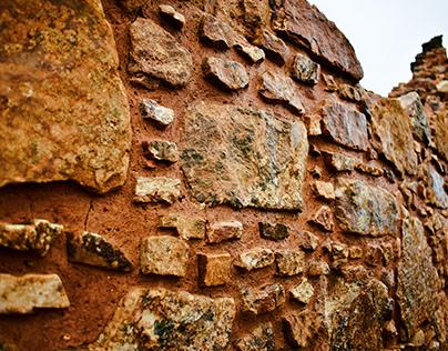 Muro de piedra Marcahuamachuco - Perú