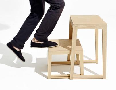 THEO STEP stepladder / step stool