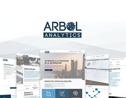 Arbol Analytics Website