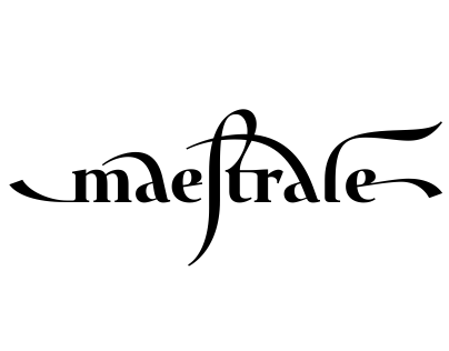 Maestrale — a unique calligraphic font family