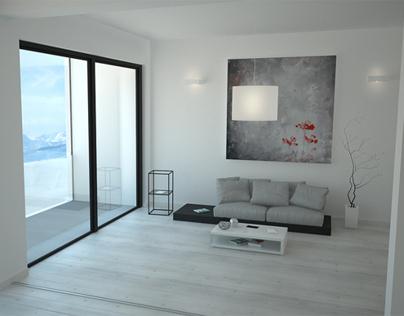3D Interior Design Marmal