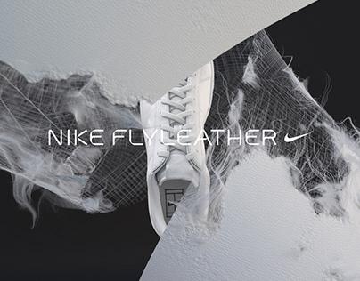 Nike Flyleather Brandmark