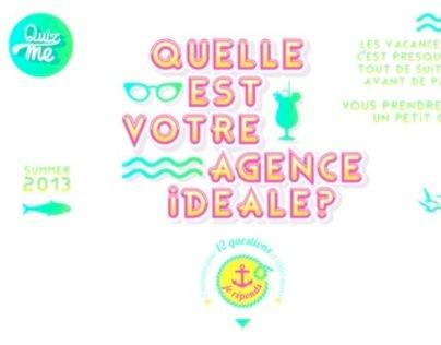 """Comète lance Quiz me : """"Quelle est votre agence idéale"""