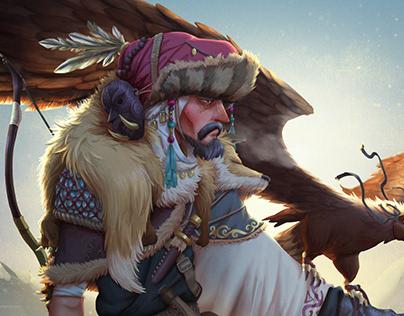 Mongolian Eagle Hunter CDC