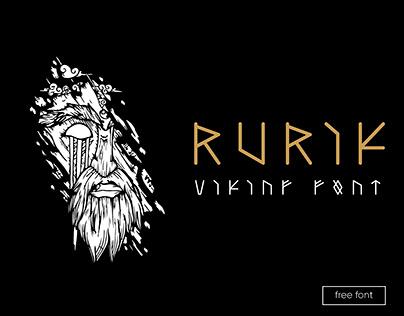 RURIK (viking font - free)