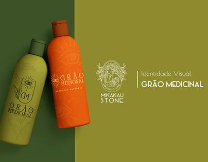 Grão Medicinal - Identidade Visual