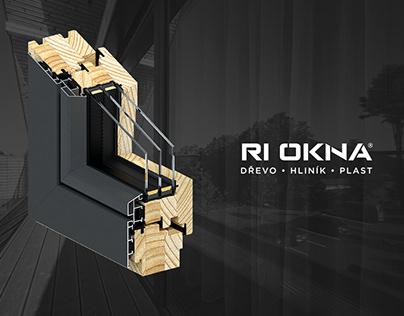 RI OKNA - Windows and Doors 3D Profiles