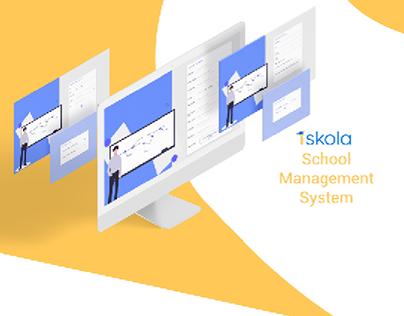 iskola School Management System UI/UX