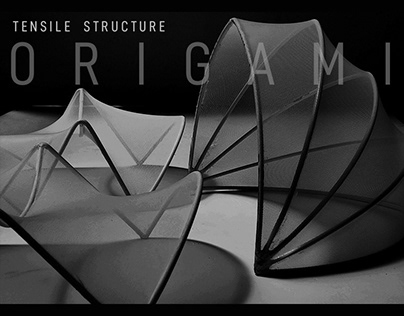 ORIGAMI: tensile structure and exhibition