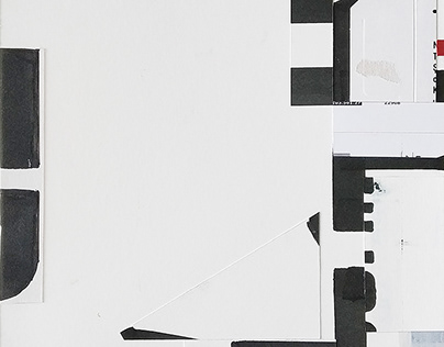 Fragments: abstract mixed media