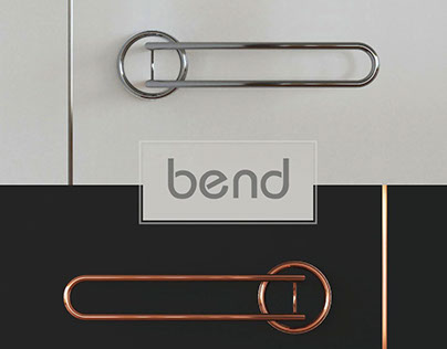 """Doorhandle """"bend"""""""