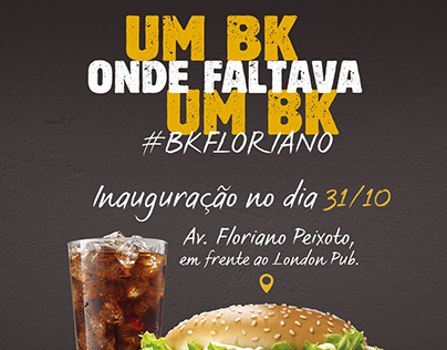 Lançamento Burger King