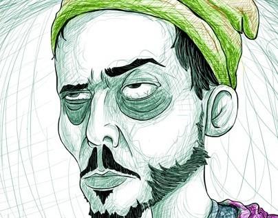 """""""EL DESVELO"""" / Ilustración Digital / Xavi Solis"""