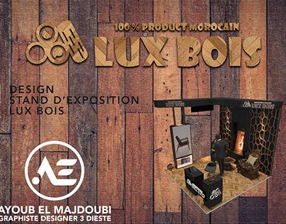 lux bois stand design