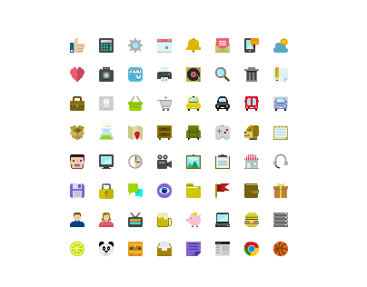 64 Pixel Perfect Icons