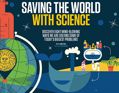 BA2 Magazine: Saving the World with Science