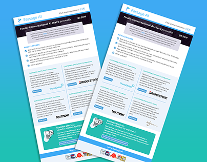 Passage AI Email Newsletter Template