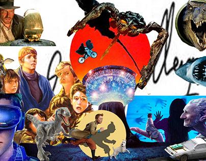 Collage Steven Spielberg