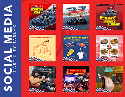 Kart City Tarlac - Social Media Graphics