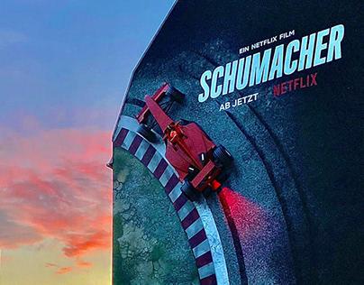 Netflix | Schumacher | 3D-Mural