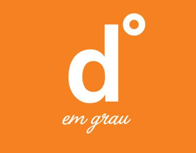 Logomarca Degrau em Grau