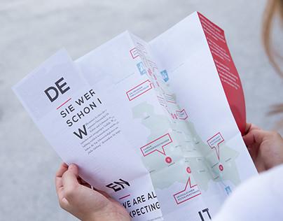 Tourist map, Hello Salzburg