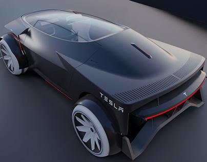 TESLA 2050 Future Urban Mobility