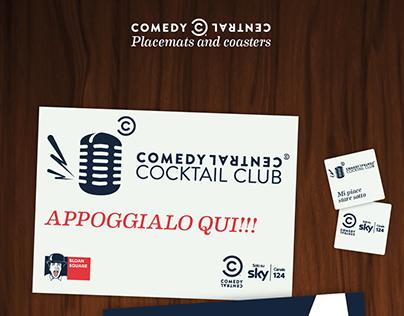 Comedy Central Cocktail Club | Merchandising e stampati
