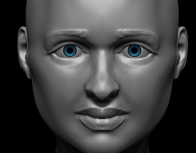 Practice faces in ZBrush